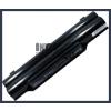 Fujitsu FMVNBP186 4400 mAh 6 cella fekete notebook/laptop akku/akkumulátor utángyártott