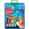 MAPED Zsírkréta, kitekerhető, MAPED Color`Peps, 6 különböző szín (IMA836111)