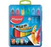 MAPED Zsírkréta, kitekerhető, MAPED Color`Peps, 6 különböző szín (IMA836111) kréta