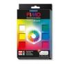 Gyurma készlet, 6x85 g, égethető, FIMO Professional True Colours, 6 különböző szín süthető gyurma