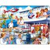 Larsen maxi puzzle 25 db-os Kórház US 33