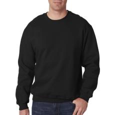 GILDAN kereknyakú pulóver, fekete