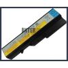 IdeaPad Z470 4400 mAh 6 cella fekete notebook/laptop akku/akkumulátor utángyártott