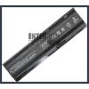 593554-001 4400 mAh 6 cella fekete notebook/laptop akku/akkumulátor utángyártott