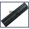 593562-001 6600 mAh 9 cella fekete notebook/laptop akku/akkumulátor utángyártott