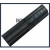 593550-001 6600 mAh 9 cella fekete notebook/laptop akku/akkumulátor utángyártott