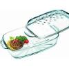 LAMART DELICA Hőálló jénai sütőtál fedővel szögletes (3,2 literes) LT3005 1 db