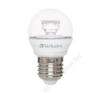 Verbatim LED izzó, E27, mini gömb, 250lm, 4,5W, 2700K, meleg fény, VERBATIM (VLED616) villanyszerelés