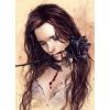 Heye puzzle 1000 db - Dark Rose