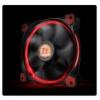 Thermaltake Riing 14, 140mm LED ventilátor - piros