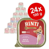 RINTI Gold Mini gazdaságos csomag 24 x 100 g - Szarvas & marha