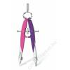 STAEDTLER Körző készlet, precíziós, 2 darabos, STAEDTLER Mars Comfort Neon, neon rózsaszín/lila (TS55600N2)