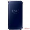 Samsung gyári Galaxy S6 clear view book cover,Fekete
