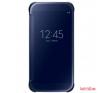 Samsung gyári Galaxy S6 clear view book cover,Fekete tok és táska