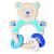 Heimess Fa babajáték, csörgő-rágóka, maci