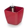 G21 Cube önöntöző kaspó, piros, 22cm