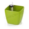 G21 Cube önöntöző kaspó, zöld, 22 cm