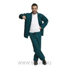 Cerva Öltöny deréknadrág+kabát zöld BE-01-001 46