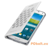 Samsung Galaxy S5 Flip Wallet Moschino White/Silver mobiltelefon kellék