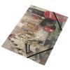 PANTA PLAST Gumis mappa, 15 mm, PP, A4,