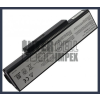 K72JM Series 6600 mAh 9 cella fekete notebook/laptop akku/akkumulátor utángyártott