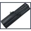 Pavilion dv2200 Series 6600 mAh 9 cella fekete notebook/laptop akku/akkumulátor utángyártott