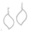 Silvertrends ezüst fülbevaló - ST1128