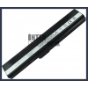 K62JR 4400 mAh 6 cella fekete notebook/laptop akku/akkumulátor utángyártott