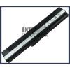 X52S 4400 mAh 6 cella fekete notebook/laptop akku/akkumulátor utángyártott