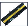 ThinkPad Edge 14 6600 mAh 9 cella fekete notebook/laptop akku/akkumulátor utángyártott