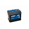 Exide Excell 12V 62Ah jobb+ autó akkumulátor EB620