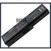 Toshiba Satellite L645D-S4036 4400 mAh 6 cella fekete notebook/laptop akku/akkumulátor utángyártott