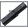Toshiba Satellite L645D-S4030 4400 mAh 6 cella fekete notebook/laptop akku/akkumulátor utángyártott
