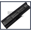 Toshiba Satellite L655-S5062 6600 mAh 9 cella fekete notebook/laptop akku/akkumulátor utángyártott
