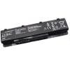 N55E Series 4400 mAh 6 cella fekete notebook/laptop akku/akkumulátor utángyártott