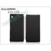 Slim Slim Flexi Flip bőrtok - LG E430 Optimus L3 II - fekete