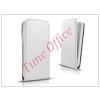 Haffner Slim Flexi Flip bőrtok - Samsung SM-A500F Galaxy A5 - fehér