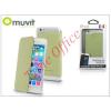Muvit Apple iPhone 6 flipes tok - Muvit Crystal Folio - lime