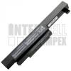 MSI CX480MX Series 4400 mAh 6 cella fekete notebook/laptop akku/akkumulátor utángyártott