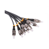Triax TFC01 1 meter, pre made, FC/PC-FC/PC