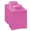 LEGO 1x2 tárolódoboz pink (40021739)