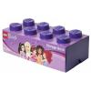 LEGO Friends 2x4 tárolódoboz lila (40041746)