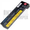 ThinkPad X240 Series 4400 mAh 6 cella fekete notebook/laptop akku/akkumulátor utángyártott