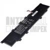 VivoBook S300C Series 4000 mAh 3 cella fekete notebook/laptop akku/akkumulátor utángyártott