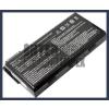 MSI MSI CR610 Series 4400 mAh 6 cella fekete notebook/laptop akku/akkumulátor utángyártott
