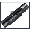 Fujitsu BTP-B5K8 4400 mAh 6 cella fekete notebook/laptop akku/akkumulátor utángyártott