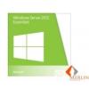 Microsoft MS Windows OS Server 2012 Essentials R2 64 Bit 1-2 CPU 1pk HUN software OEM DVD /G3S-00719/