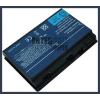 Acer TravelMate 5720 Series 4400 mAh 6 cella fekete notebook/laptop akku/akkumulátor utángyártott