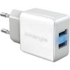Innergie USB-s hálózati dupla töltő, 2 x 2100 mA, Innergie ADP-21AW CAD