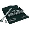 Wera Racsnis dugókulcs készlet, króm-molibdén 1/2 (12.5 mm) Wera Zyklop Metal 8100 SC 7